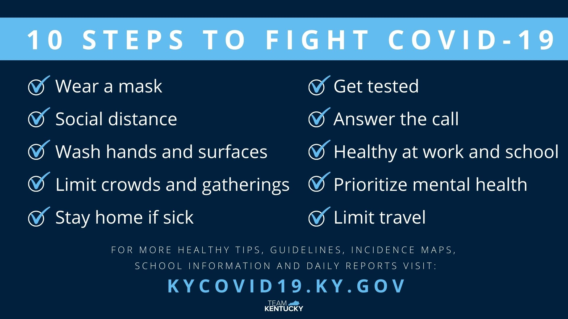 Kentucky State By State Covid 19 Guidance Husch Blackwell